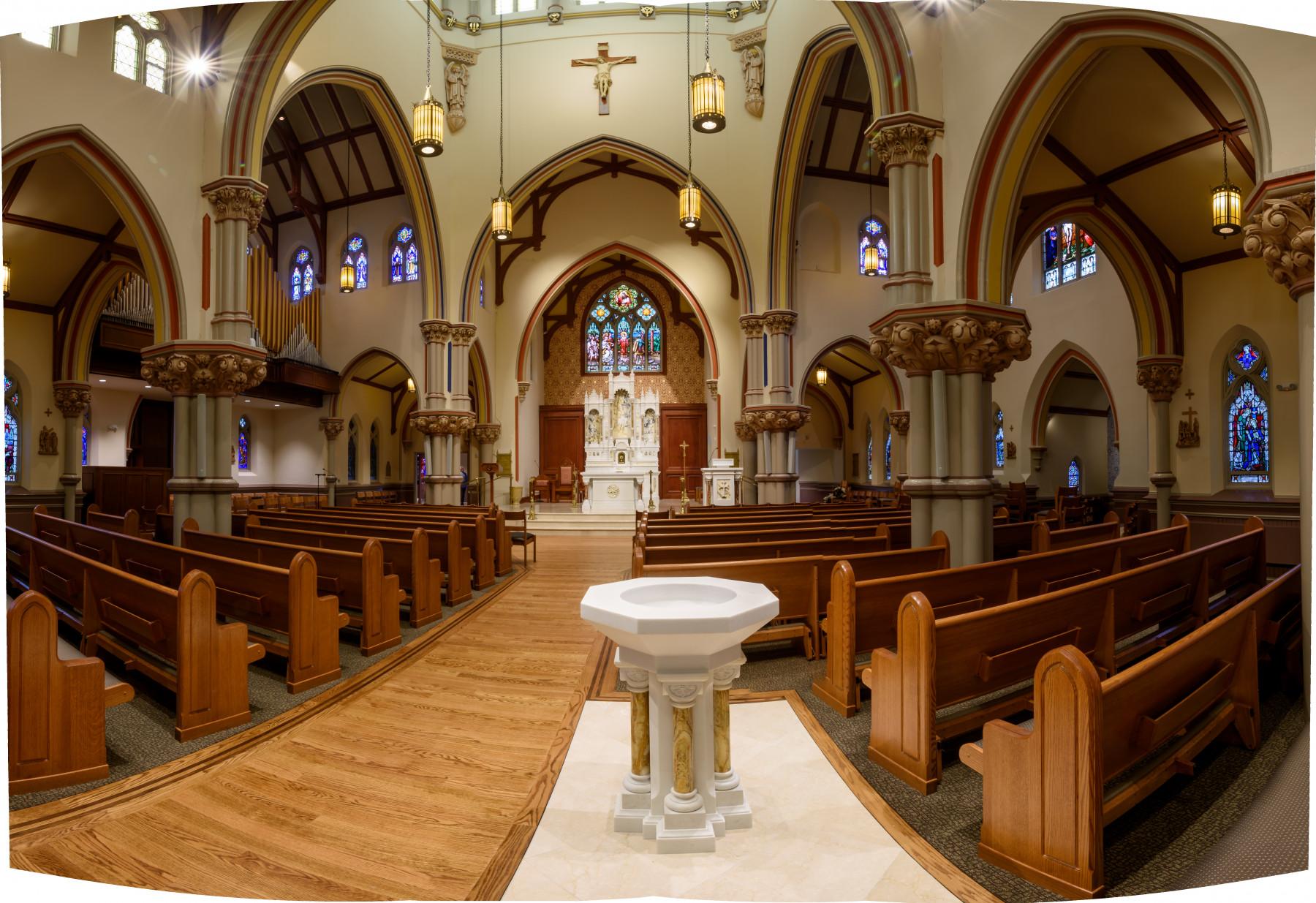 St. Vincent's Madison NJ back view