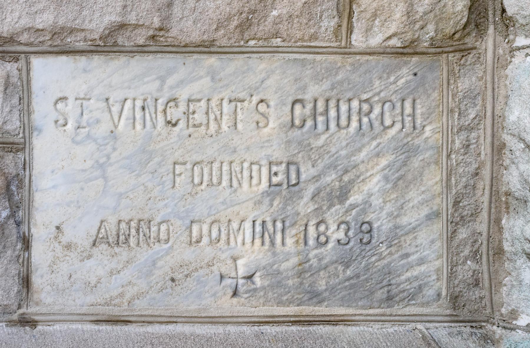 St. Vincent's Madison NJ founded 1839