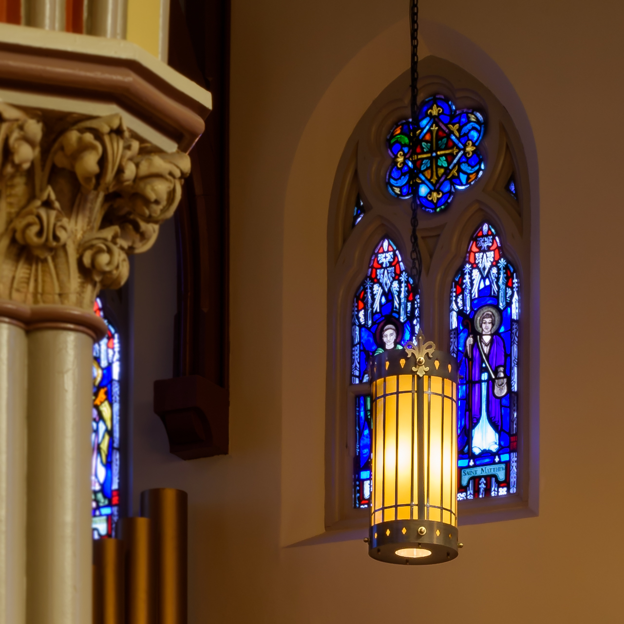 St. Vincent's Madison NJ glass window