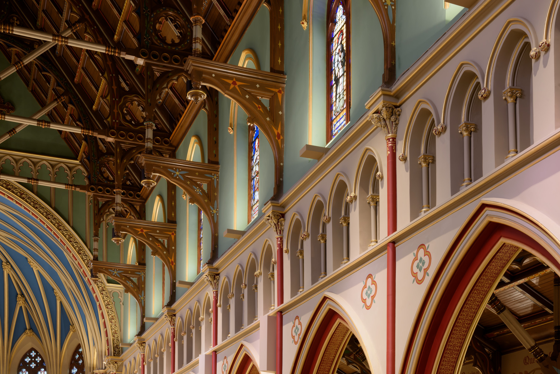 Architectural Lighting for Cathedral of the Immaculate Conception