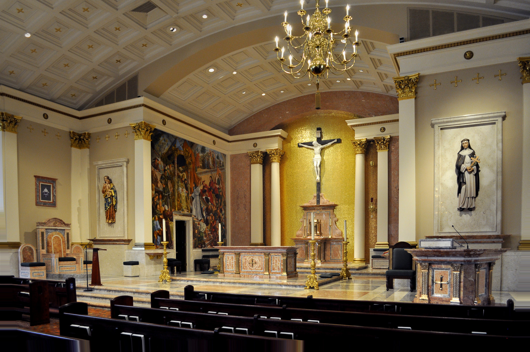 St. Catharine of Siena Allentown side back view