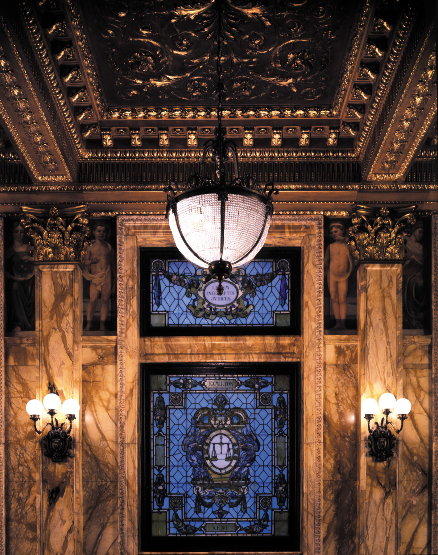 NY Court Appellate indoor lighting