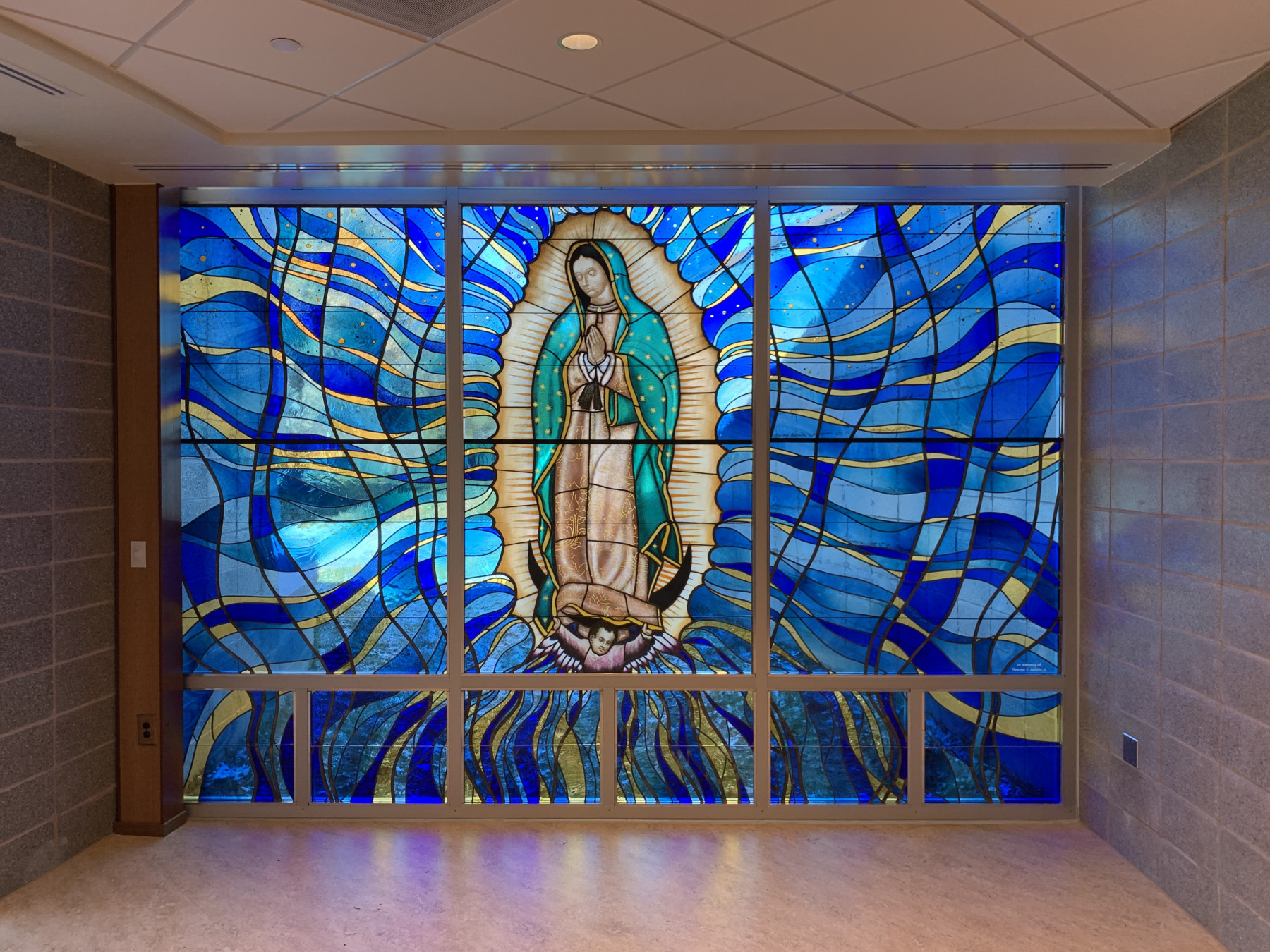 St. Rose of Lima Stained Glass Window