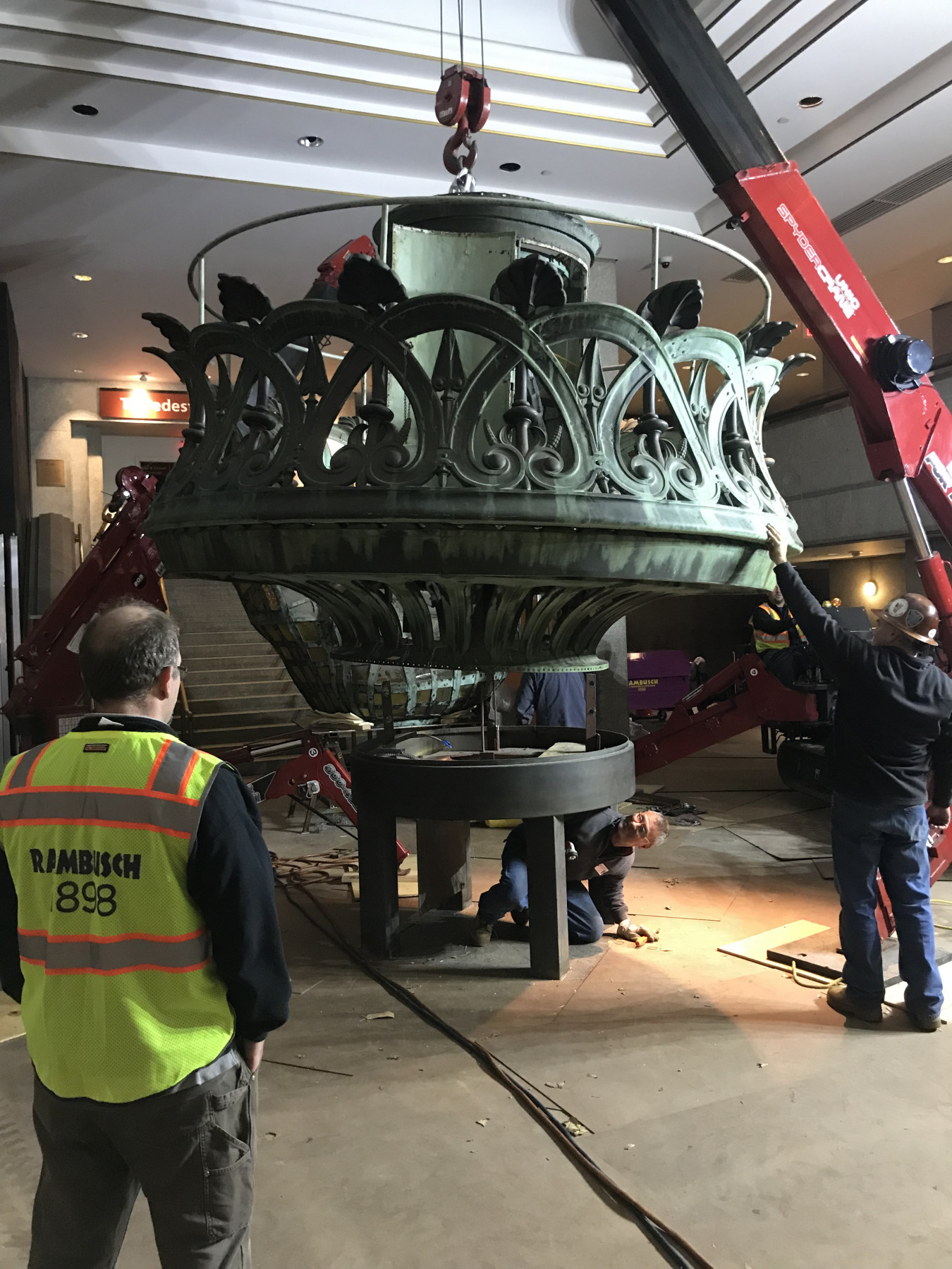 Statue of Liberty Torch restoration