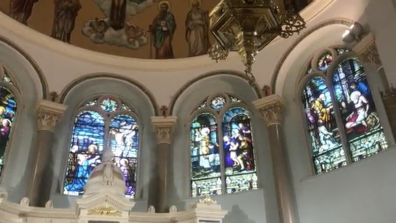 Video: WIVB4 Tour of South Buffalo Church