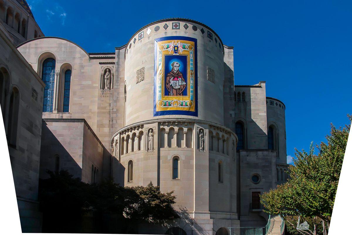 St. Junípero Serra Canonization Mass Banner