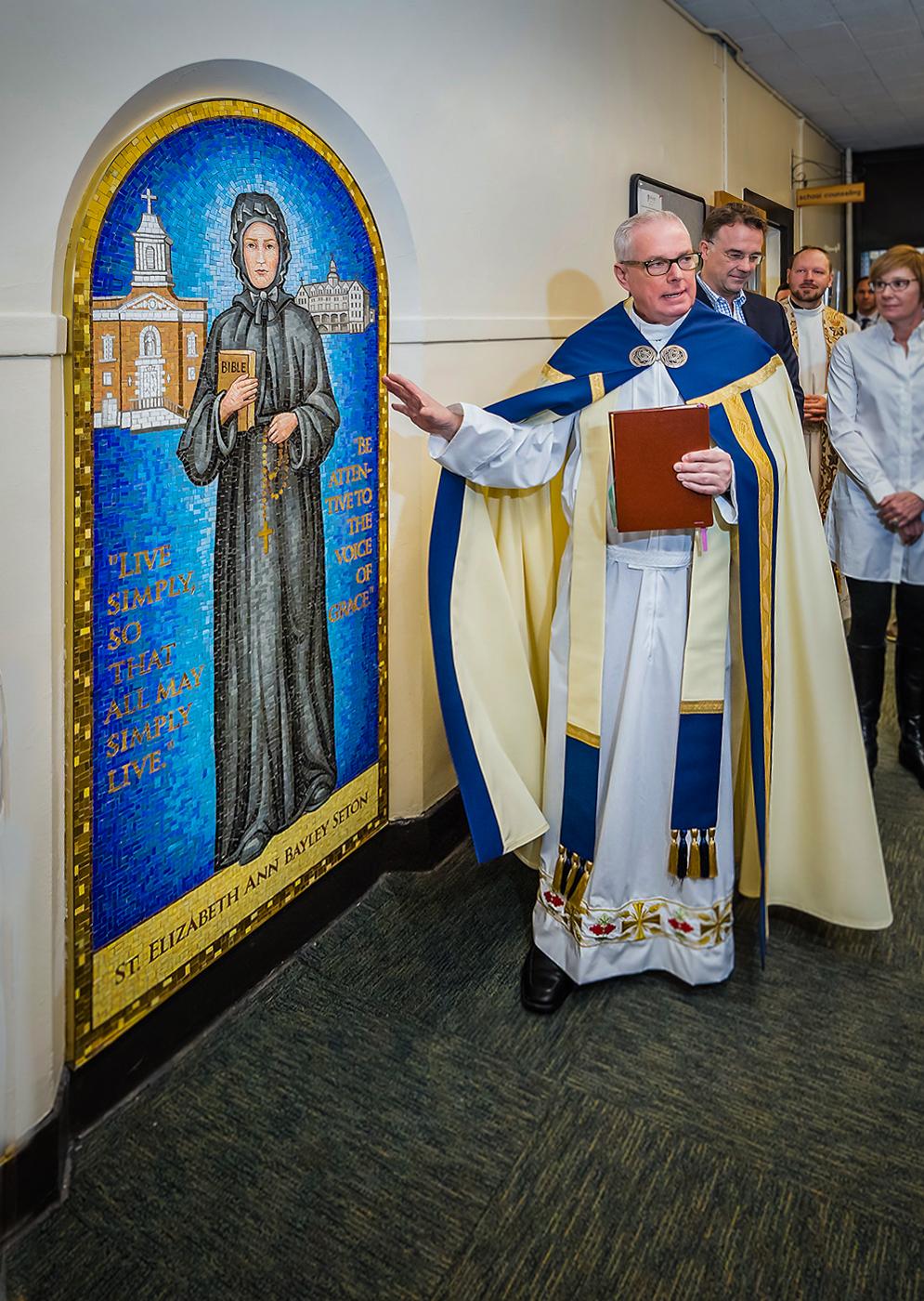 Seton Hall pope