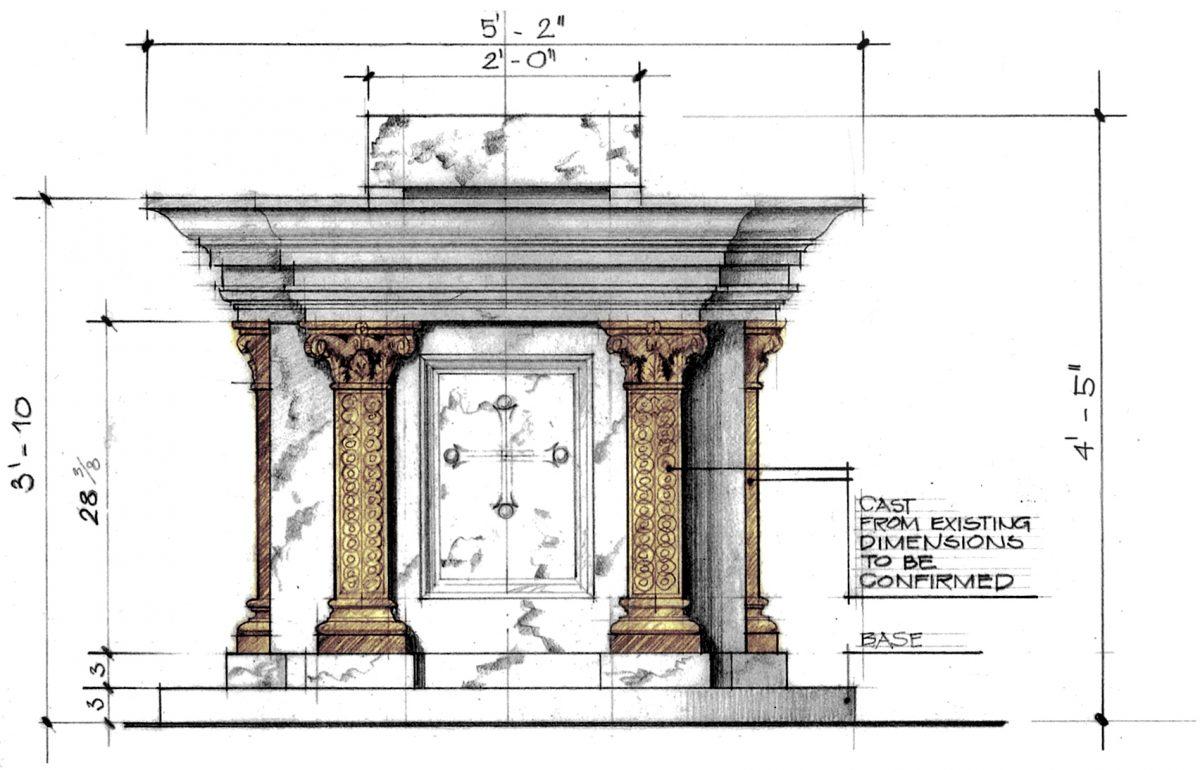 St. Catharine of Siena Allentown designs