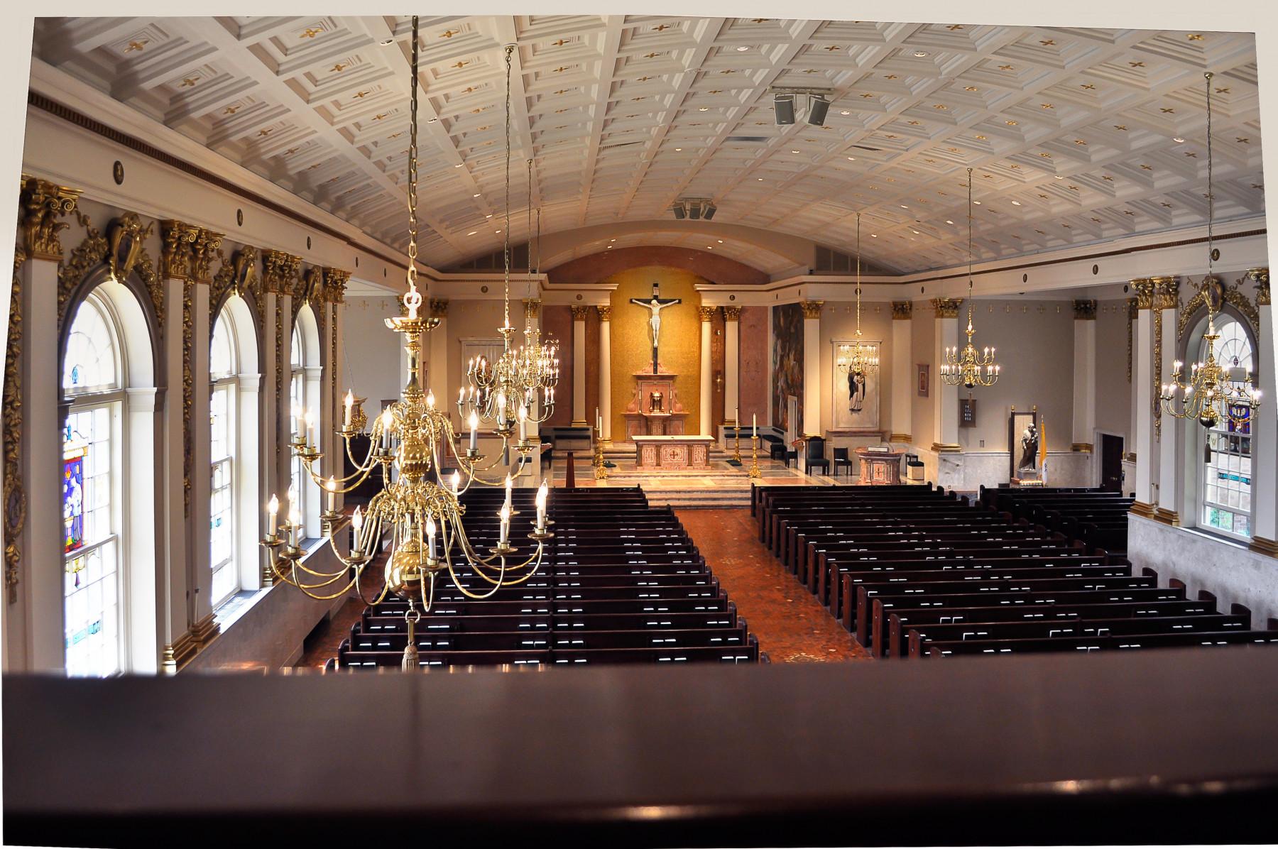St. Catharine of Siena Allentown back