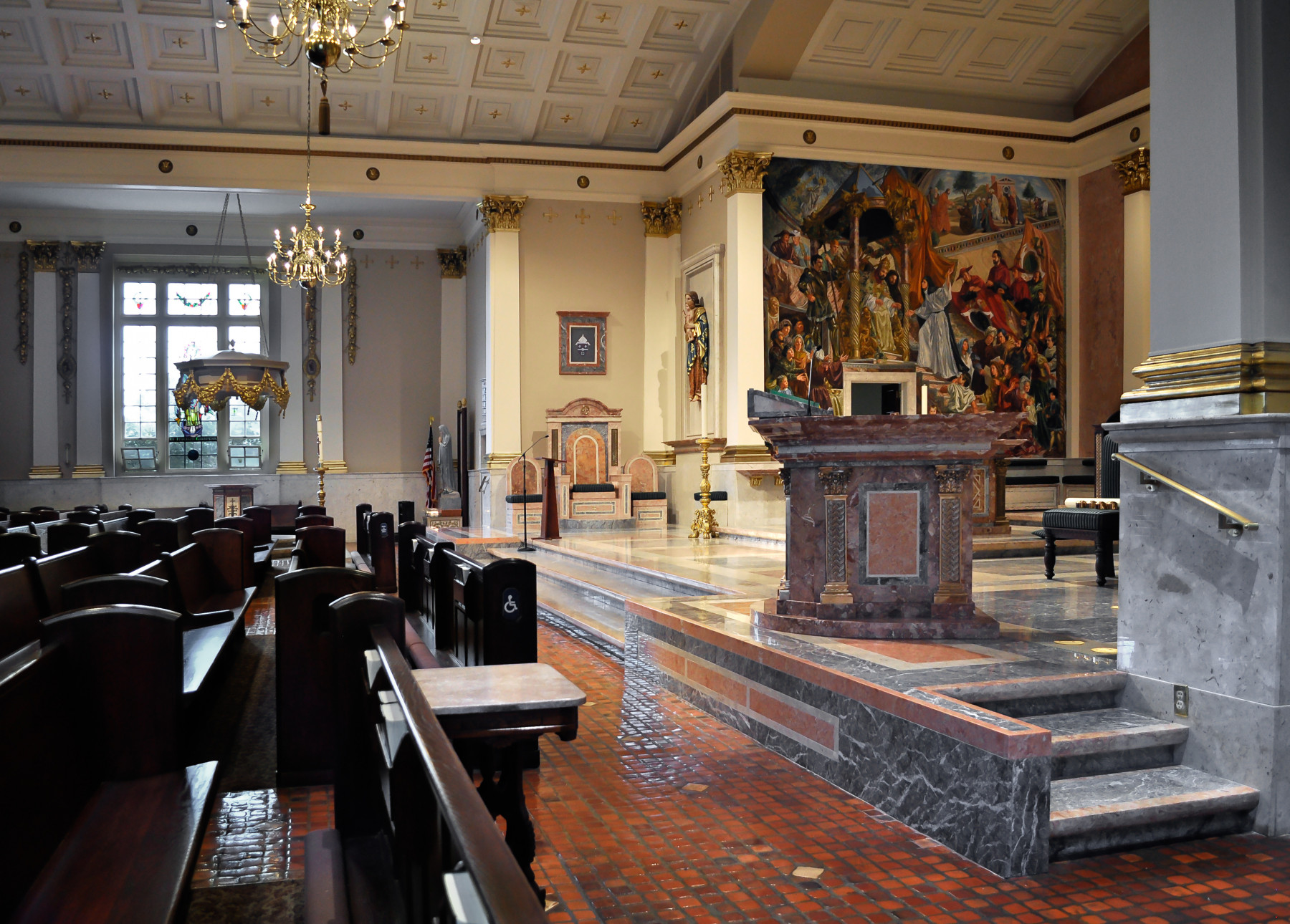 St. Catharine of Siena Allentown side view