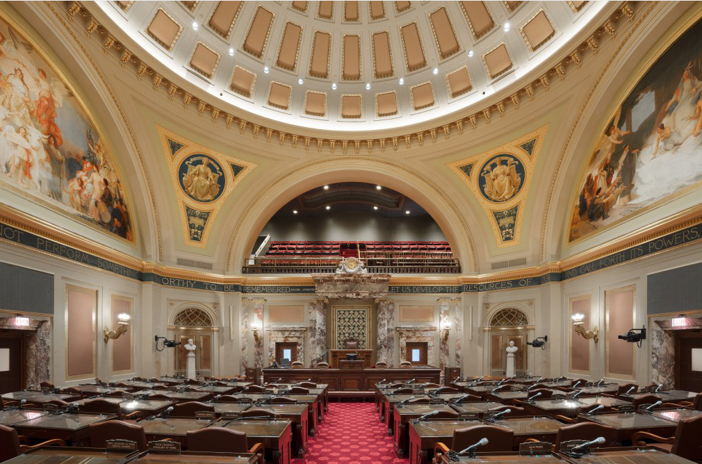 LED Downlighting for the Minnesota State Capitol Building