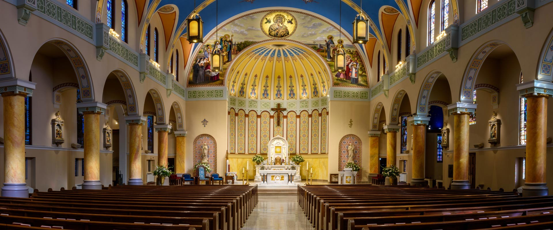 Interior Design and Renovation for the Cathedral of Our Lady of Perpetual Help
