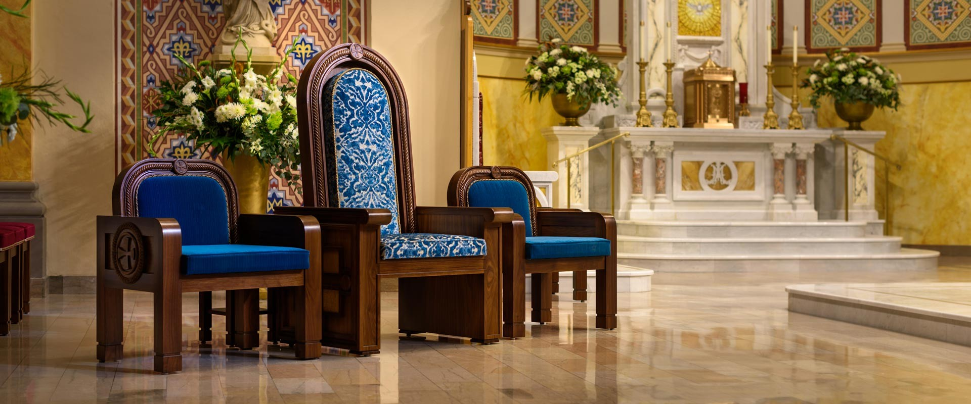 Our Lady of Perpetual Help Oklahoma chairs