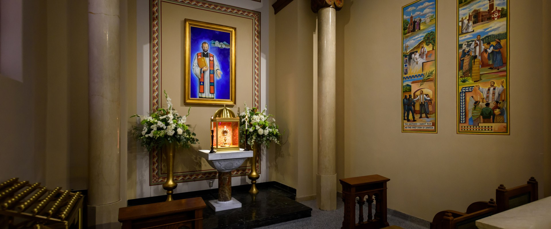 Our Lady of Perpetual Help Oklahoma paintings