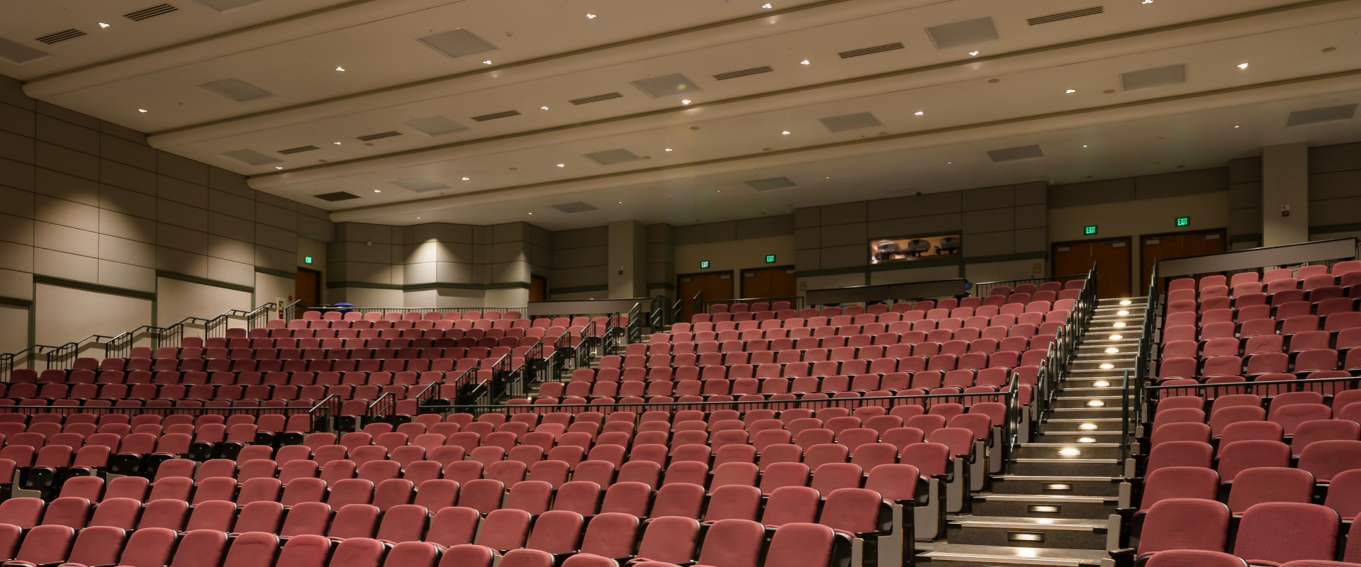 LED Downlights for Penn State's Premier Lecture Hall